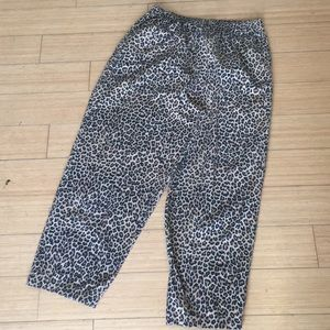 Cheetah PJ pants